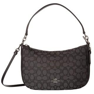 Coach Chelsea Signature Black Crossbody Handbag
