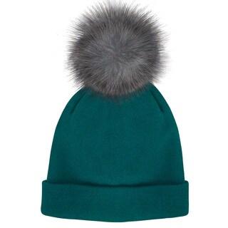 Posh Plus Knit Teal Beanie