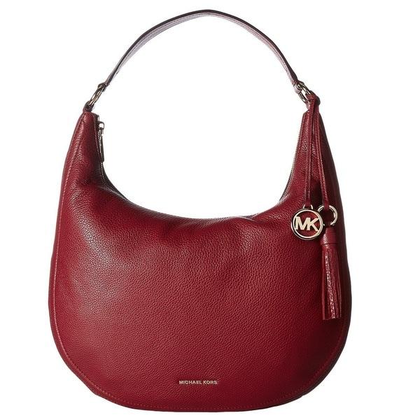 5816974f38c7 Shop Michael Kors Lydia Large Mulberry Hobo Handbag - Free Shipping ...
