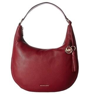 Michael Kors Lydia Large Mulberry Hobo Handbag