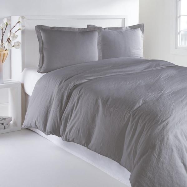 Luxury Linen Cotton 3-piece Duvet Cover Set