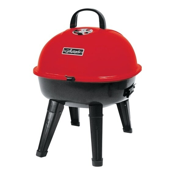 Grillmark Charcoal Kettle Grill Red (Metal)