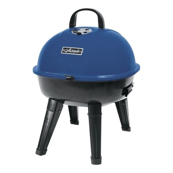 Grillmark Charcoal Kettle Grill Blue, Black (Metal)