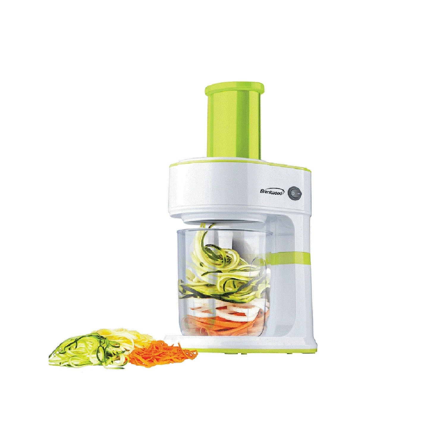 Brentwood 5 Cup Electric Vegetable Spiralizer And Slicer Overstock 20192575