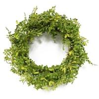 Puleo International 22 in. Artificial Jasmine Leaf Wreath