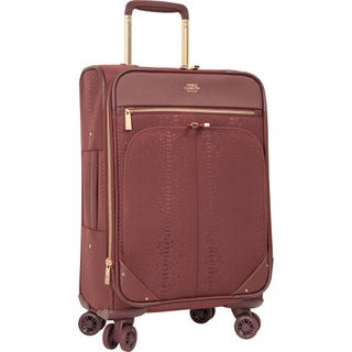 Vince Camuto Ameliah 20-inch Expandable Carry On Spinner Suitcase (Option: Fig)