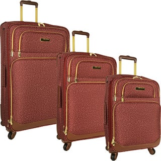 Anne Klein San Francisco 3-piece Expandable Spinner Luggage Set