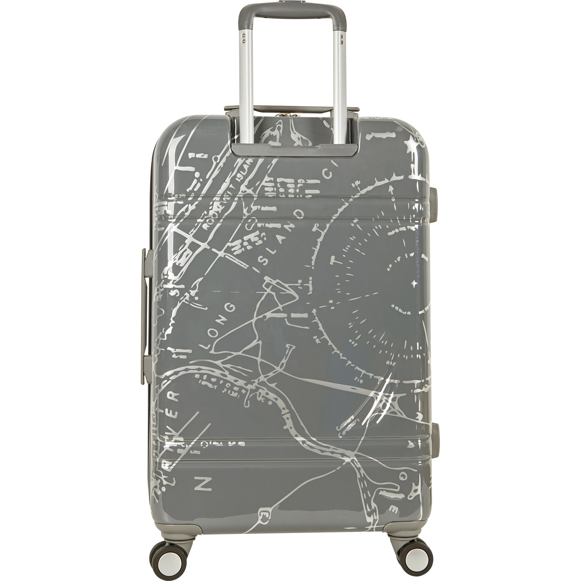 0cfddf7d9 Shop Nautica Shipyard Map 3-piece Hardside Spinner Luggage Set - Free  Shipping Today - Overstock - 20192700 - Grey