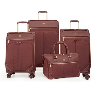 Vince Camuto Ameliah 4-piece Expandable Spinner Luggage Set