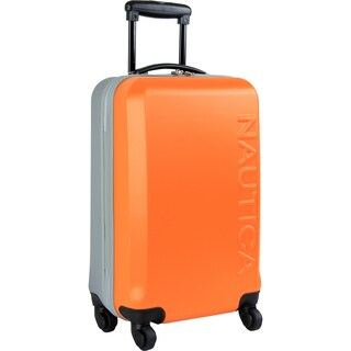 Nautica Ahoy 21-inch Hardside Carry On Spinner Suitcase