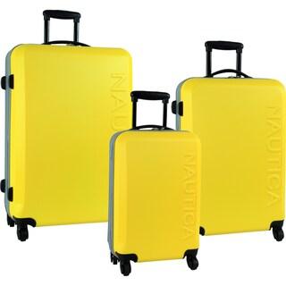 Nautica Ahoy 3-piece Hardside Spinner Luggage Set
