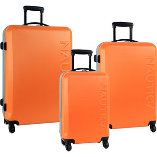 Nautica Ahoy 3-piece Hardside Spinner Luggage Set (2 options available)