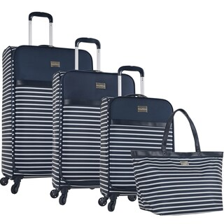 Tommy Bahama Cancun 4-piece Expandable Spinner Luggage Set