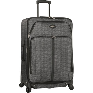 Travel Gear Triton 25-inch Expandable Spinner Upright Suitcase