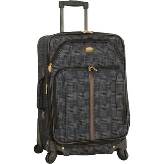 Travel Gear Triton 21-inch Expandable Carry On Spinner Suitcase