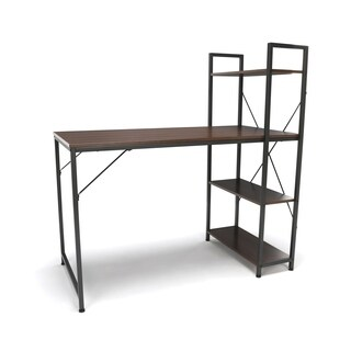 Model ESS-1004 Essentials Combination Desk 4 Shelf Unit