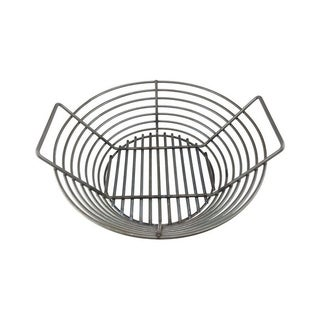 Kick Ash Basket  Steel  Charcoal Grate  5.75 in. H x 14 in. W x 4.25 in. D