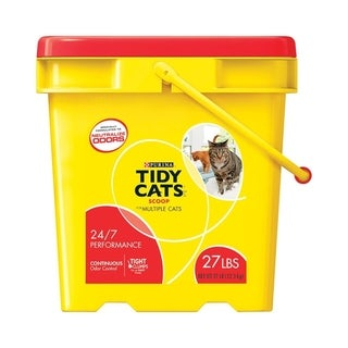 Tidy Cats Multi-Cat Scoopable Cat Litter 27 lb.