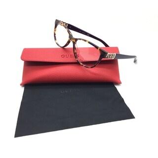 Guess Women Tortoise Square New Eyeglasses GU 2491 083 53 Plastic