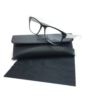 Guess Men Brown Square New Eyeglasses GU 1893 052 53 Plastic