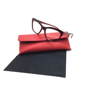 Guess Women Burgundy Square New Eyeglasses GU 2463 BURD 53 Plastic