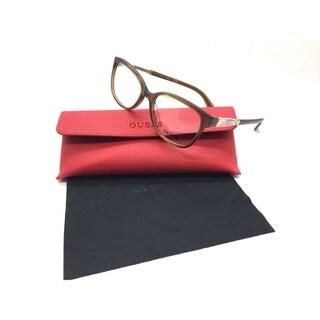Guess Women Brown Square New Eyeglasses GU 2560 045 52 Plastic