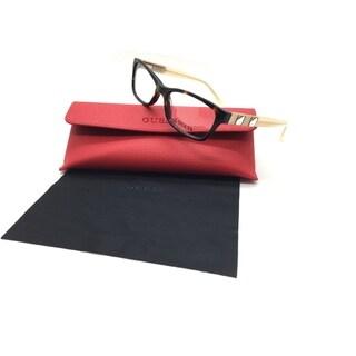 Guess Women Tortoise Rectangular New Eyeglasses GU 2414 TO 53 Plastic