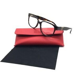 Guess Women Tortoise Square New Eyeglasses GU 2577 052 54 Plastic