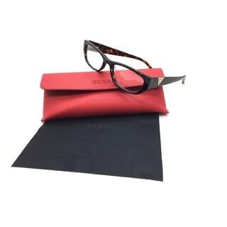 Guess Women Tortoise Rectangular New Eyeglasses GU 2387 TO 51 Plastic