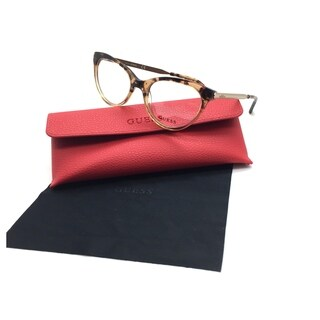 Guess Women Brown Cats Eye New Eyeglasses GU 2462 BRN 51 Plastic