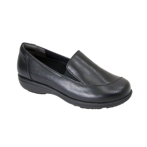 24 HOUR COMFORT Peggy Women Extra Wide Width Business Step In Loafer