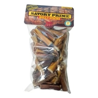 Savory Prime Bully Sticks Small All Ages Dog Treats Beef 10 oz.. Opens flyout.