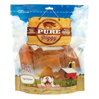 Link to Loving Pets  American Farms Pig Ears  All Ages  Dog Treats  Beef  10 pk Similar Items in Dog Food & Treats
