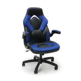 Model ESS-3085 Essentials by OFM Racing Style Leather Gaming Chair