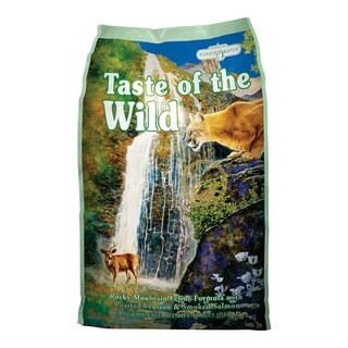 Taste of the Wild Rocky Mountain Roasted Venison & Smoked Salmon Dry Cat Food 15 lb.