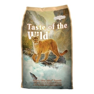 Taste of the Wild Canyon River Trout and Salmon Dry Cat Food 15 lb.