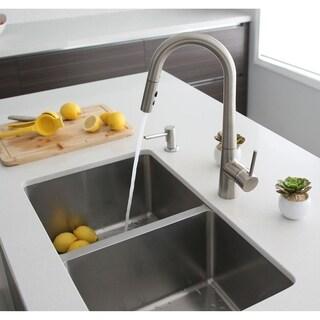 "31"" Double Bowl Under-mount, 18G, Kitchen Sink, with grid S-401G - Toledo"