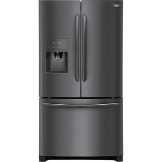 Frigidaire Gallery 27.1 Cu. Ft. French Door Refrigerator - Black Stainless Steel