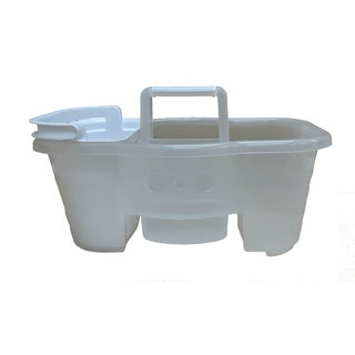 Clear Shower Caddy with Insert