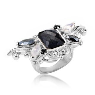 Pop Superstud Sterling Silver Gemstone Ring 3013626003MQ