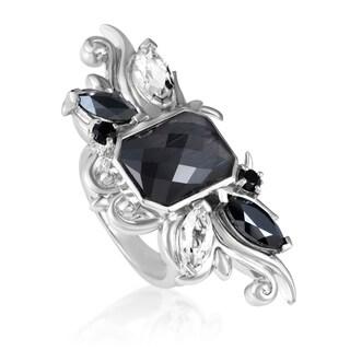 Pop Superstud Sterling Silver Multi-Gemstone Ring