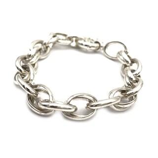 Sterling silver Bracelet - Size 7.8