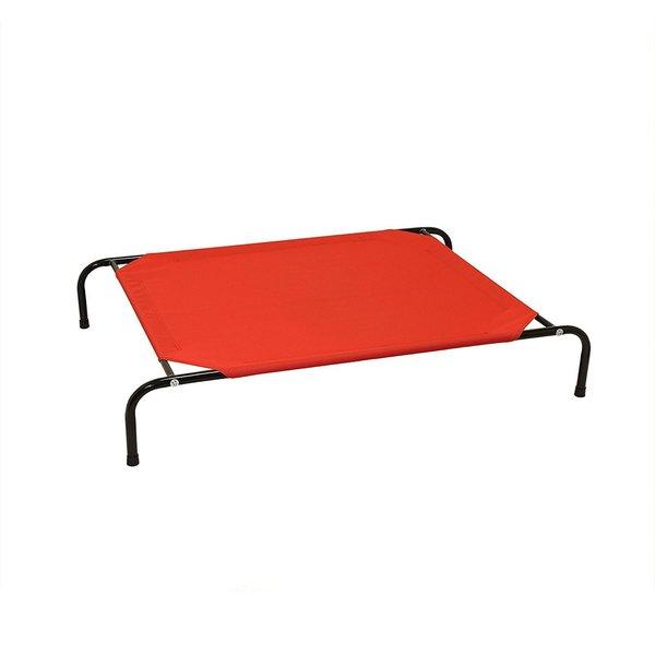 Shop Aleko Basic Elevated Dog Cat Pet Bed Steel Frame 35 X 23 X 8
