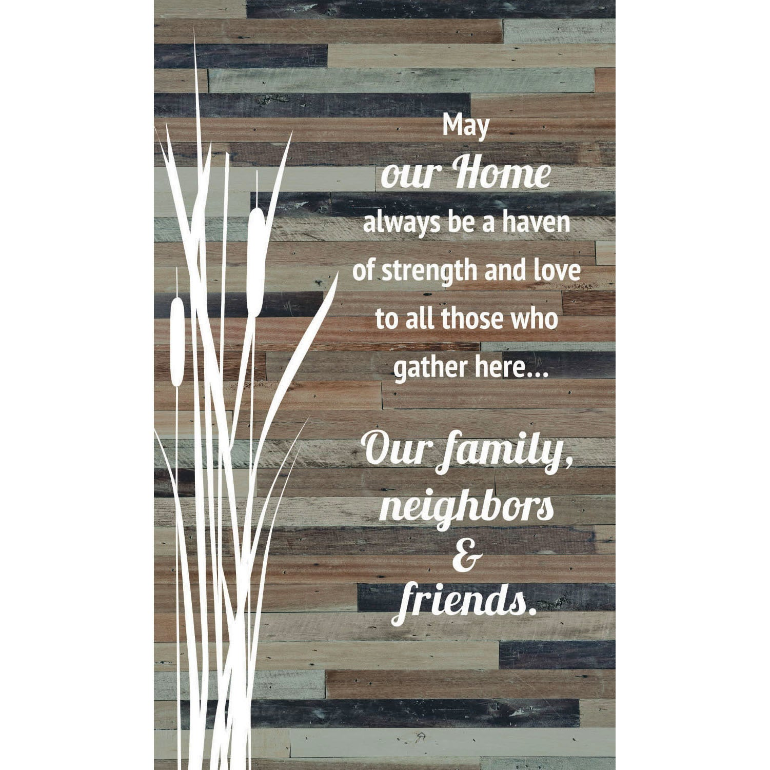Country Printed Quality Wooden Sign Hanger Friends Are Family New Plaque