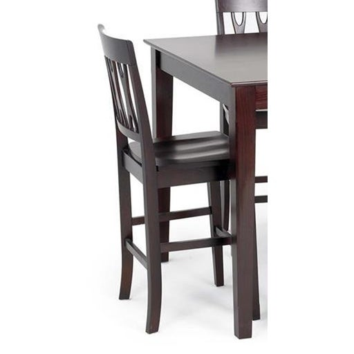 Magnificent Abbie Bordeaux Cut Back Counter Height Barstools Set Of 2 Gmtry Best Dining Table And Chair Ideas Images Gmtryco