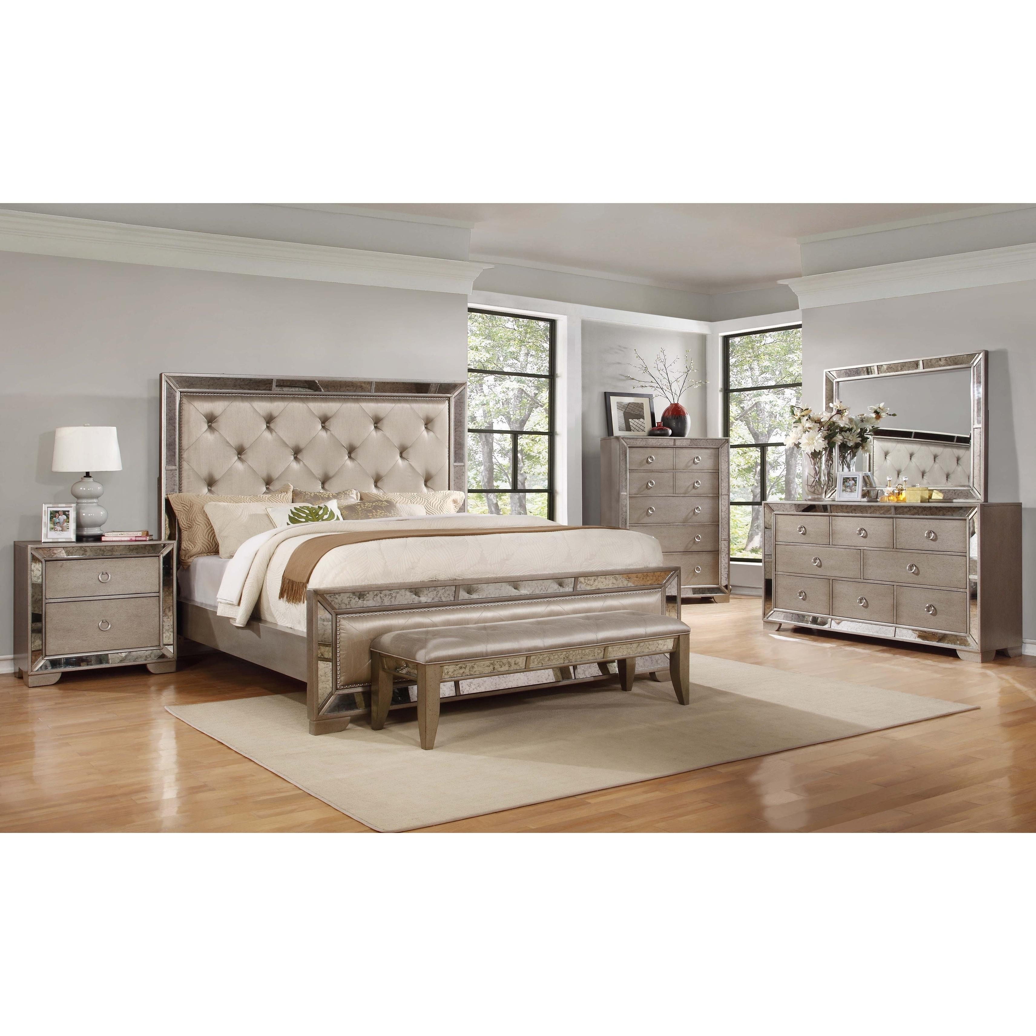 Best Master Furniture Ava 5 Piece Bedroom Set Overstock 20194171
