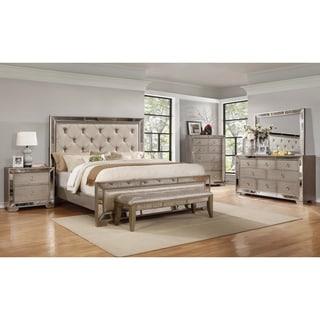 Size: California King · Best Master Furniture Ava 5 Pcs Bedroom Set