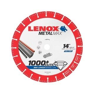 Lenox MetalMax Diamond Cut-Off Blade 14 in. Dia. x .13 in. x 1 in.