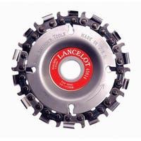 King Arthur's Tools  4 in. Dia. 14 teeth Chain Saw Type Cutting Wheel  For Lancelot
