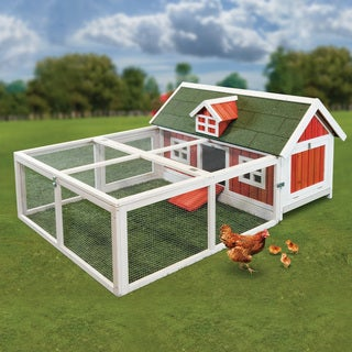 Little Red Hen Chicken Barn
